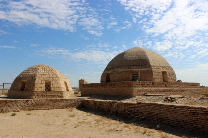 Mizdahkan, Karakalpakstan, Uzbekistan, Necropolis, City of the Dead, Ancient burial site, travel, Central Asia, Culture