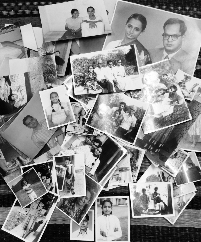 Photos, memories, stories, Black and White