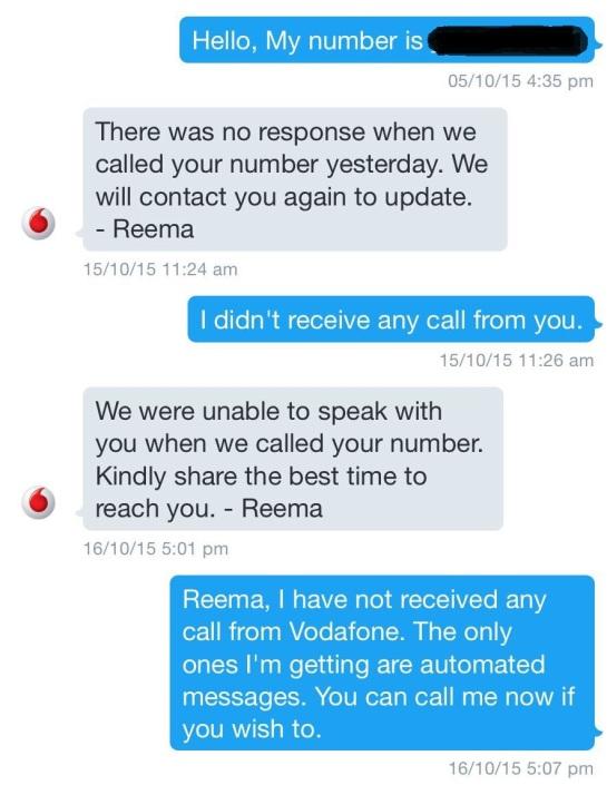 Vodafone DM
