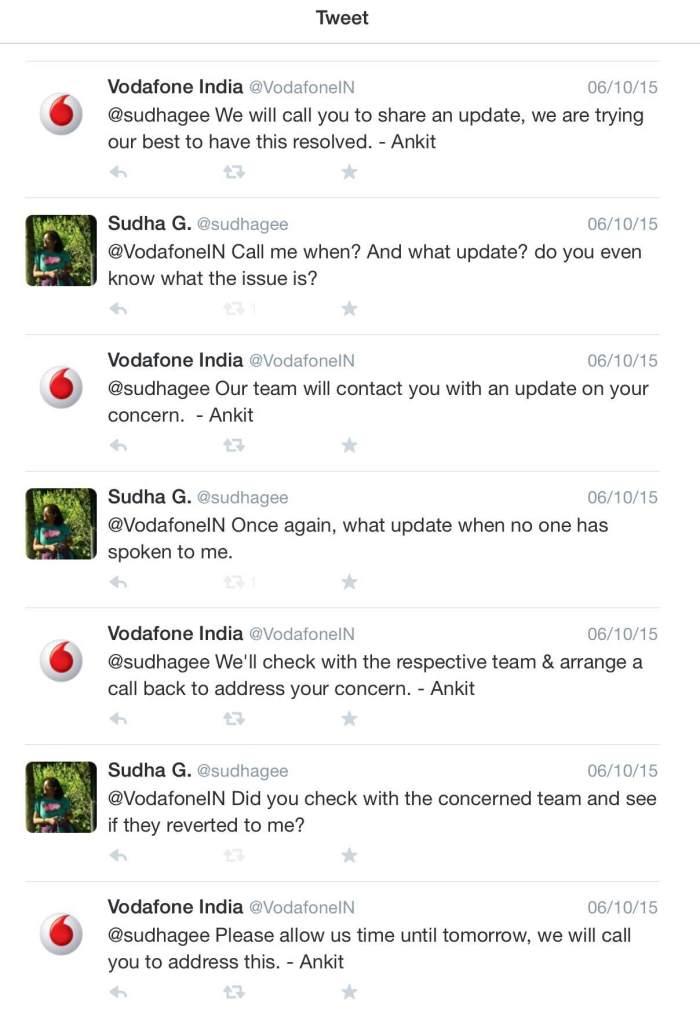 Vodafone, Complaint, Twitter, Social Media
