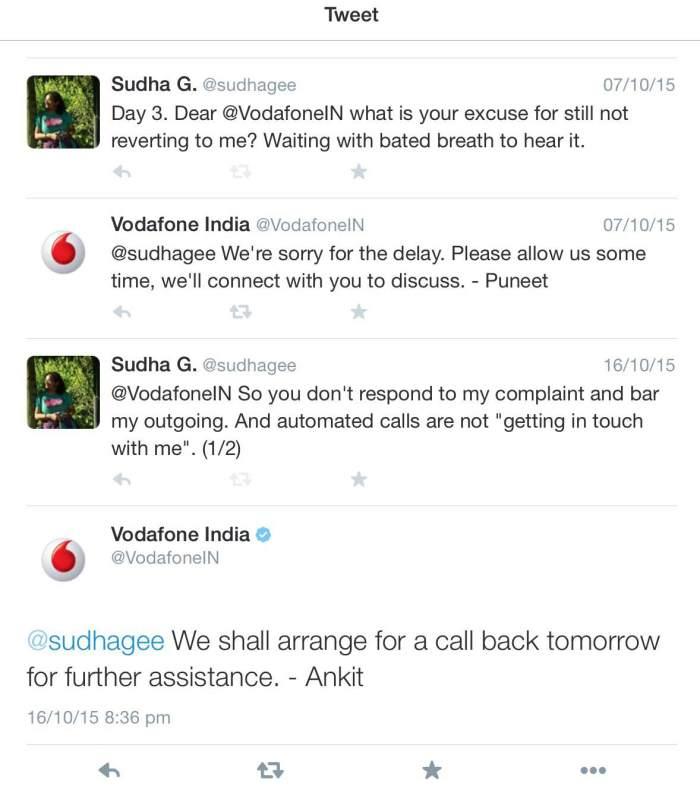 Vodafone Tweets 3