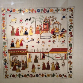 Chamba Rumal, Crafts of India, Art, Indian Aesthetics, Bhau Daji Lad Museum, Delhi Crafts Council, Exhibition