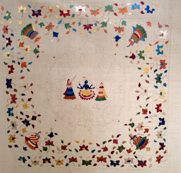 Chamba Rumals Painted Embroideries Or Embroidered