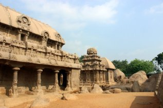 UNESCO World Heritage Site, Historical Monument, Architecture, Heritage, India, Incredible India, Group of Monuments in Mahabalipuram, Pancha Ratha, Mamallapuram, Tamil Nadu