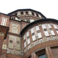 """UNESCO World Heritage Site, Historical Monument, Architecture, Heritage, Church and Dominican Convent of Santa Maria delle Grazie with """"The Last Supper"""" by Leonardo da Vinci, Italy"""