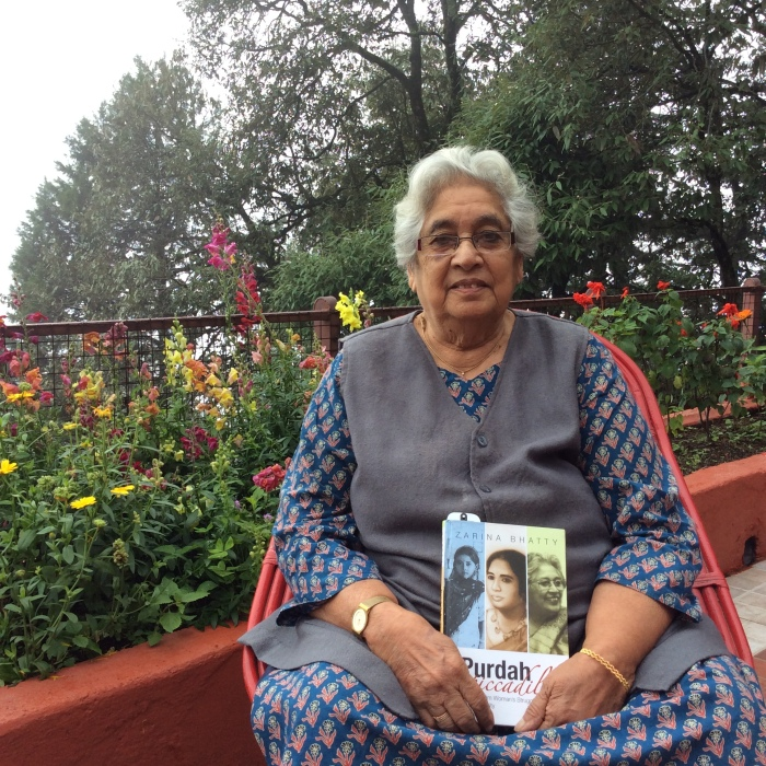Writers of Mussoorie, Zarina Bhatty, From Purdah to Piccadilly