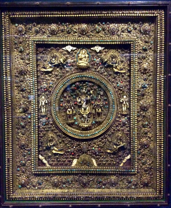 Chintamani Lokeshvara , Museum Treasure, Museum Exhibit, Himalayan Art Gallery, CSMVS, Mumbai, Nepal, 19th Century