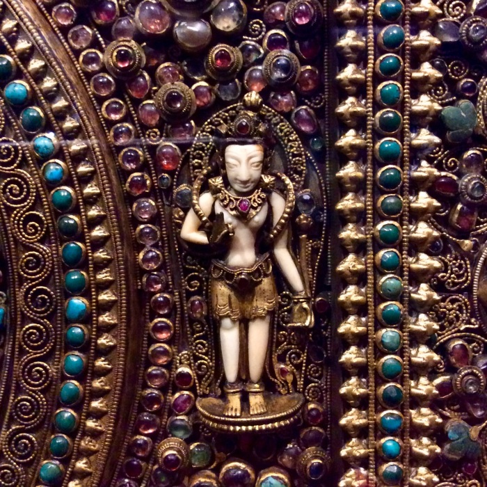 Chintamani Lokeshvara , Museum Treasure, Museum Exhibit, Himalayan Art Gallery, CSMVS, Mumbai, Nepal, 19th Century