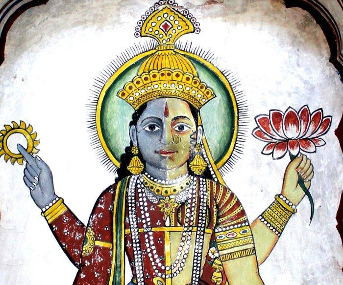 Vaikuntha Kamalaja, Vasudeva Kamalaja, Vasudeva Lakshmi, Composite form of Vishnu and Lakshmi Ramnath Poddar Haceli Museum