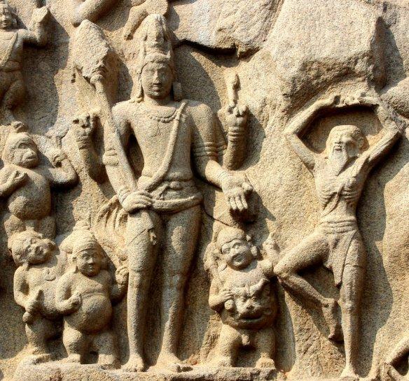 Mahabalipuram, UNESCO World Heritage Site, Arjuna's Penance, Descent Of Ganga, Relief Panel, Narrative Networks