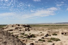 Tentative List for UNESCO World Heritage Site, Architectural Monument, Archeological Ruin, Khorezm, Uzbekistan, Toprak Qala
