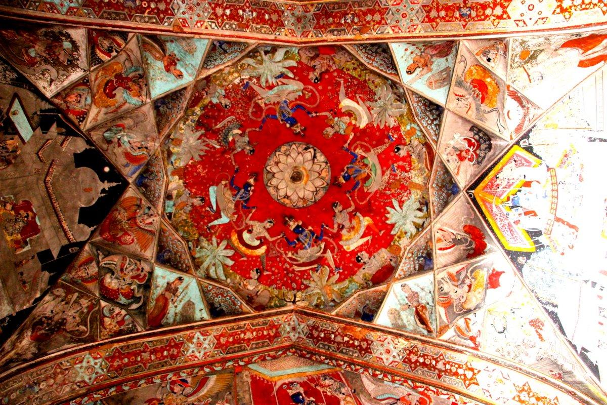 Painted niches, Taragarh Fort, Bundi   Flowers   India ...
