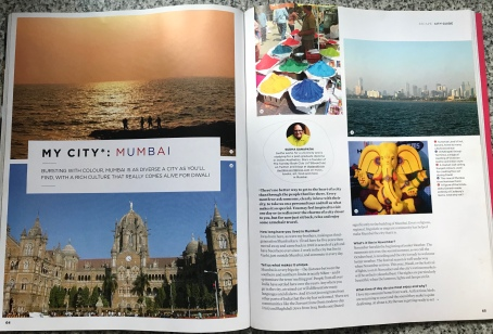 I wrote this section on my favourite city, Mumbai