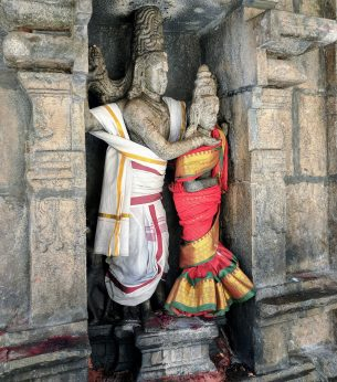 Shiva and Parvati or Gangadhara?