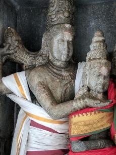 Kshetra Puraneeswarar, Gangadhara muri, Ganga Visarjana Murti, Bhagiratha, Granite Sculpture, Lalithambigai Temple, Thirumeeyachur