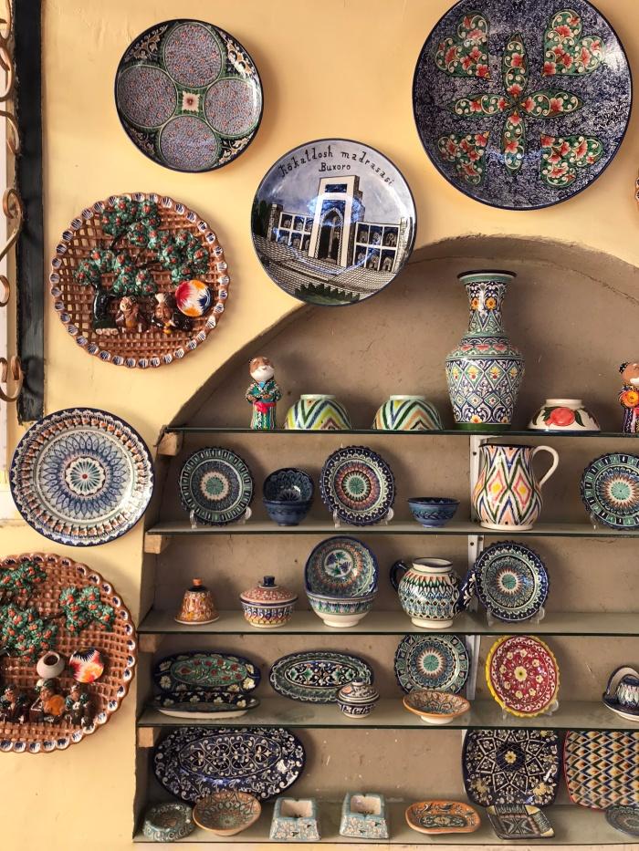 Rishatan, Ceramic Artist, Rustom Usmanov, Uzbekistan