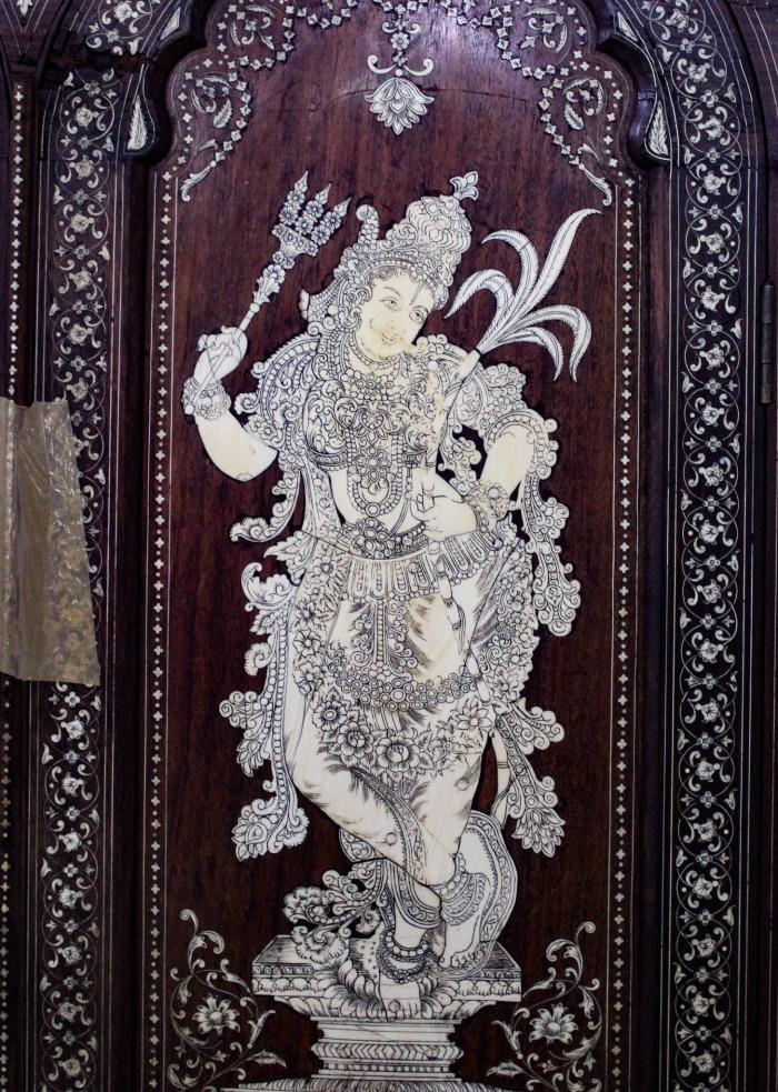 Bangalore Government Museum, Kamadeva, Museum Treasure, Dressing Table