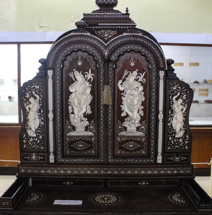 Bangalore Government Museum, Rati and Kamadeva, Museum Treasure, Dressing Table