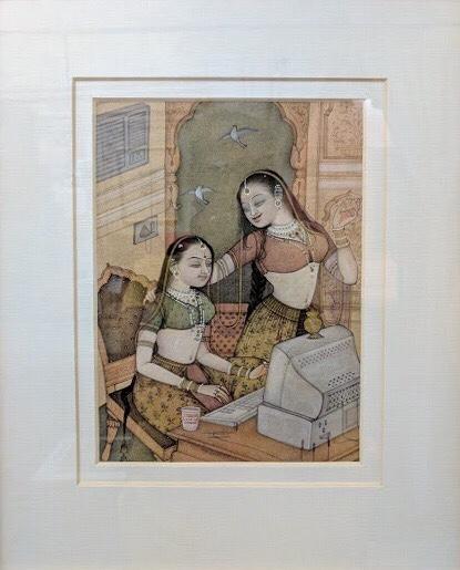 Mahaveer Swami, Miniature Artist, Miniature Painter, National Award Winner, Bikaner