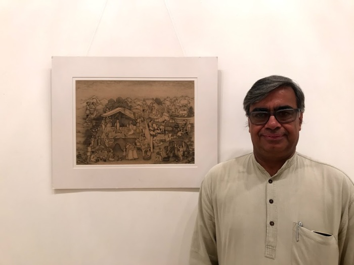 Mahaveer Swami, Miniature Artist, Miniature Painter, National Award Winner, Bikaner