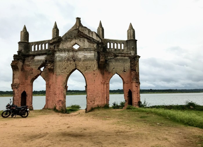 Rosary Church, Shettyhalli, Karnataka, Ruins,