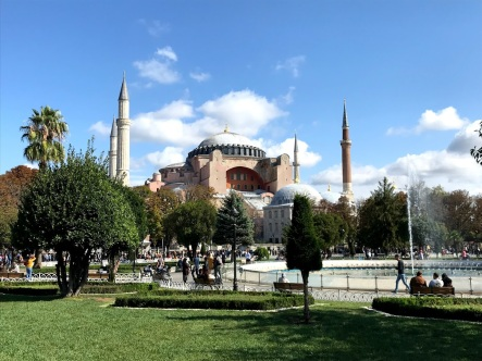 UNESCO World Heritage Site, Historical Monument, Architecture, Heritage, Hagia Sofia, Istanbul, Constantinople, Turkey