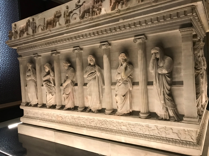 Sarcophagus of Mourning Women, Istanbul Atchaeolohical Museums, Imperial Loot of Ottoman Empire, Turkey