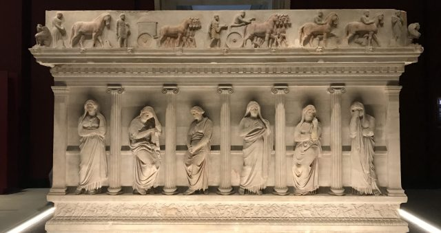 Museum Treasure: Sarcophagus of the mourning women